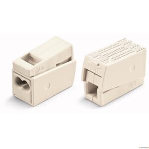 WAGO valgusti klemm 1+2x2,5mm 5tk/pk valge
