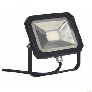 LED prozektor õhuke must 50W, 4000K