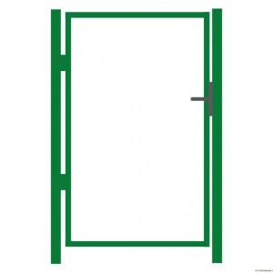 Aiavärava raam 1000x1000mm ZN+RAL6005