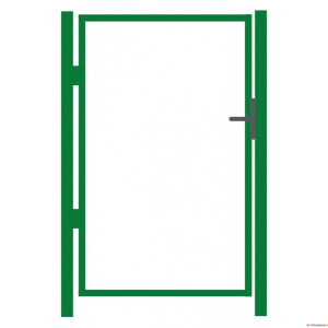 Aiavärava raam 1000x1500mm ZN+RAL6005