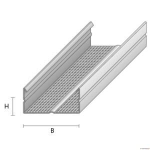 Kipslaekarkass  CD-60 60/27 4,0 m Favor
