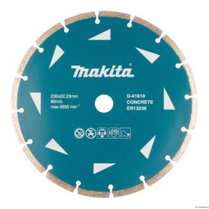 Teemantketas 230x22,23x2,6mm segment Makita D-41610