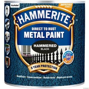 Hammerite_Hammered_Black_25l