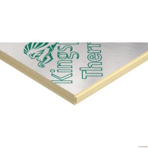 ! Kingspan Therma TP10 (SPU AL) 100mm 1200x2400 2,88m²/tk 12tk/alus