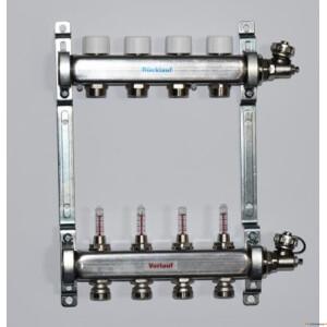 Põrandakütte RV kollektor 4 kontuuri
