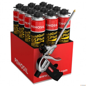 ! Kastiga PENOSIL püstolivaht GoldGun 65Plus 850ml+vahupüstol