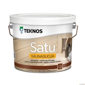 SATU SAUNASUOJA saunakaitseaine 2,7L TEKNOS