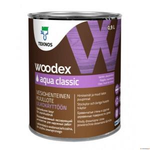 WOODEX AQUA CLASSIC puidukaitsevahend 0,9L Teknos