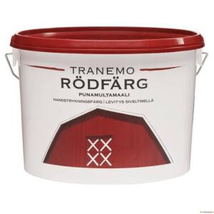 Tranemo Rödfärg 10L (rootsi punane puitfassaadivärv) Teknos