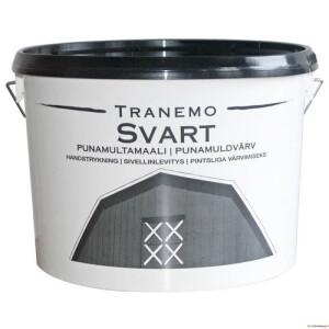 TRANEMO SVART 10L (rootsi must muldvärv puitfassaadidele) Teknos