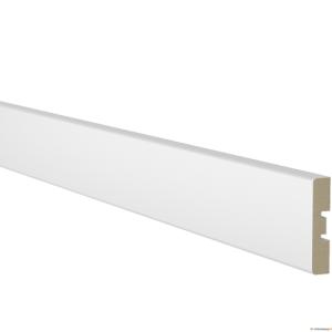 Uksepiirdeliist 12x58mm MDF VALGE komplekt 5,5m.