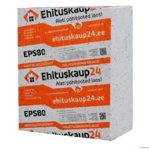 EPS80 100x1000x1200 6m²/0,6m³/pakis