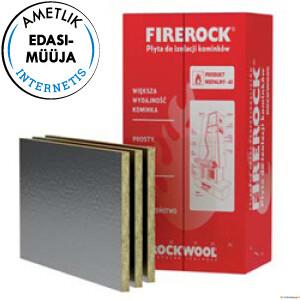 ROCKWOOL FIREROCK ALU 30x600x1000mm 10tk/6m2/pk