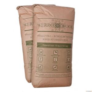 Tselluvill WERROWOOL (puistevill) 15kg