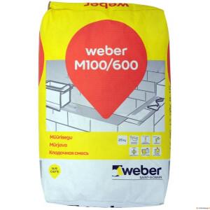Müürisegu Weber M100/600 25kg [48]