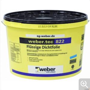 Veetõkkemass Weber.tec 822  8kg