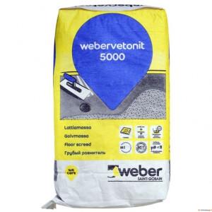 Põrandasegu jäme weber.vetonit 5000 20kg