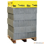 Fibo plokk 3/250 EFEKT tapiga täisalusena 64 tk/alusel
