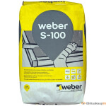 ! Kuivbetoon Weber S-100 25kg