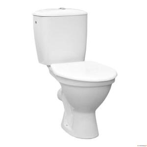 WC-pott Jika Norma, 3/6L, 90° tagantvool