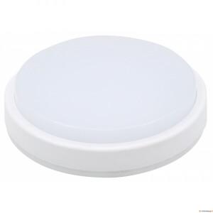 LED plafoon ümmargune 12W IP65 valge 1000lm