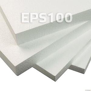 EPS100 25x1000x1200mm 24m²/0,6m³/pakis