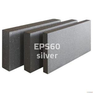 EPS60 Lambda (Silver) 100x600x1000 3,6m²/0,36m³/pakis