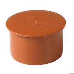 Kan.kork 160 vk Wavin  oranž  PVC (EN1401)
