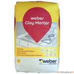 Ahjusegu Weber Clay Mortar 25kg
