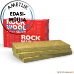! ROCKWOOL SUPERROCK 100x565x1000 4,52m²/pakis
